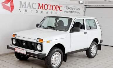 Lada 4x4 Белый